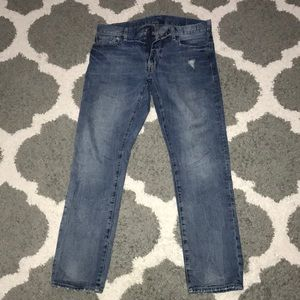 (2) ralph lauren denim and supply jeans
